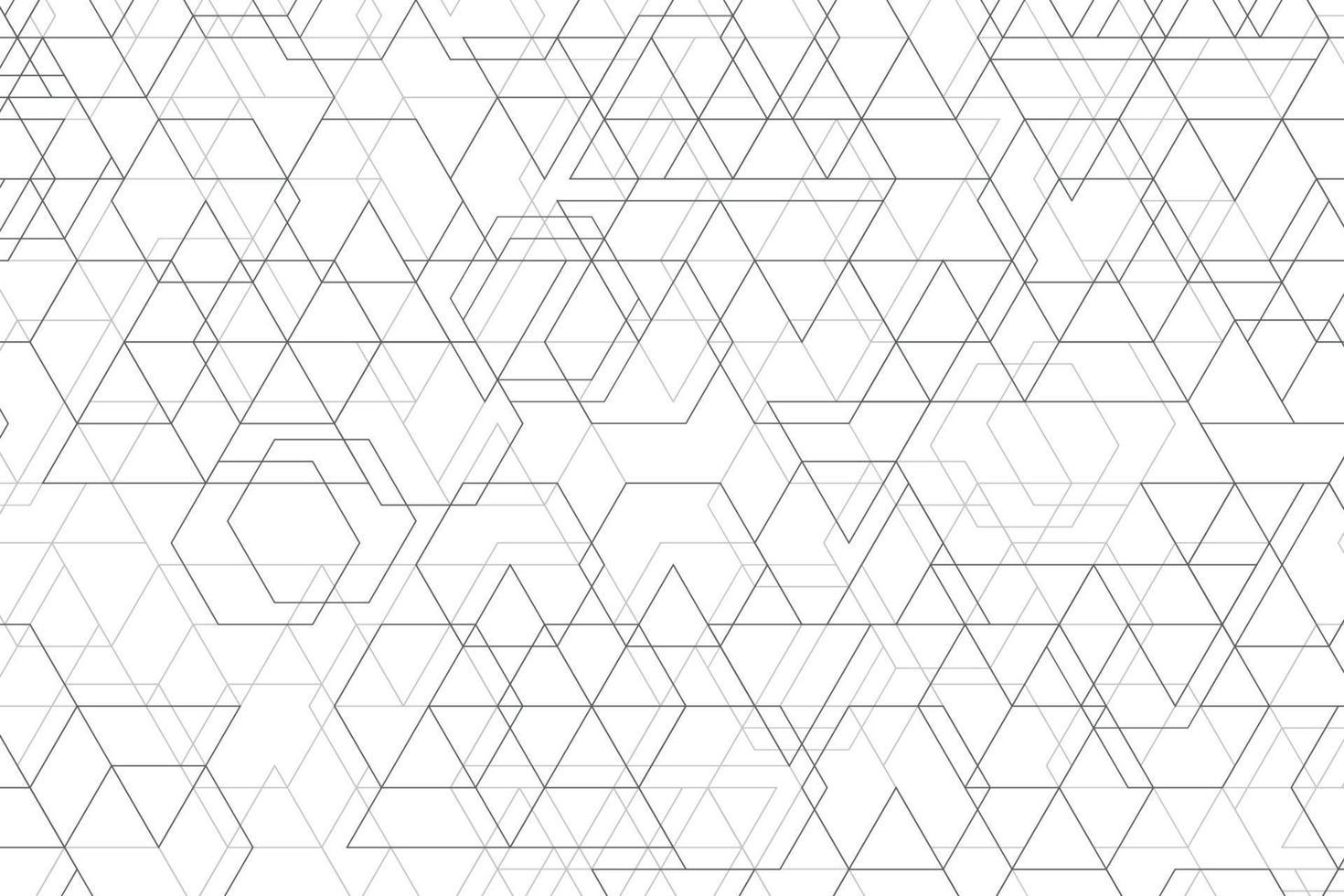 abstract geometrisch patroon van zwarte minimale de decoratieachtergrond van het lijnontwerp. illustratie vector