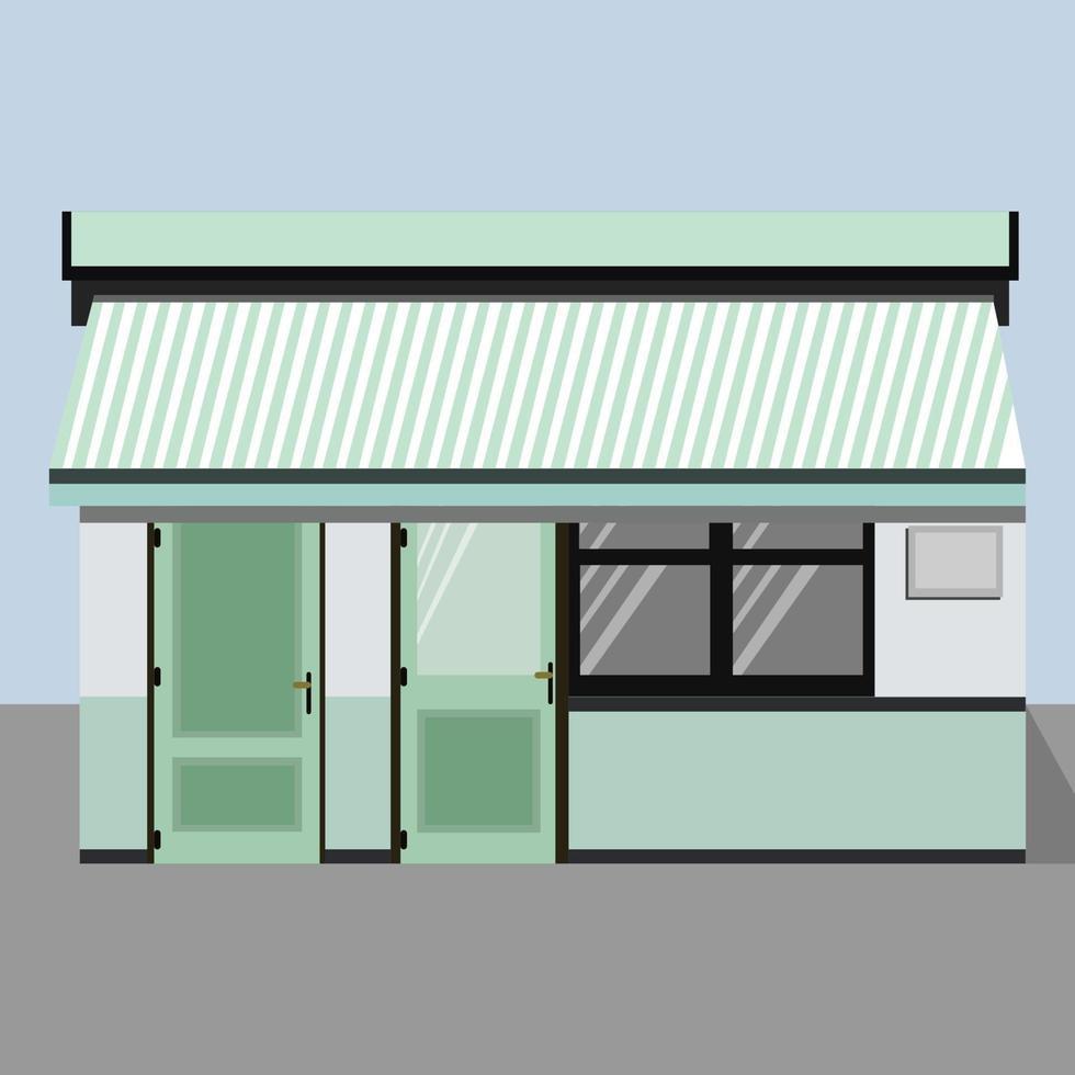 vector front store perfect voor ontwerpproject