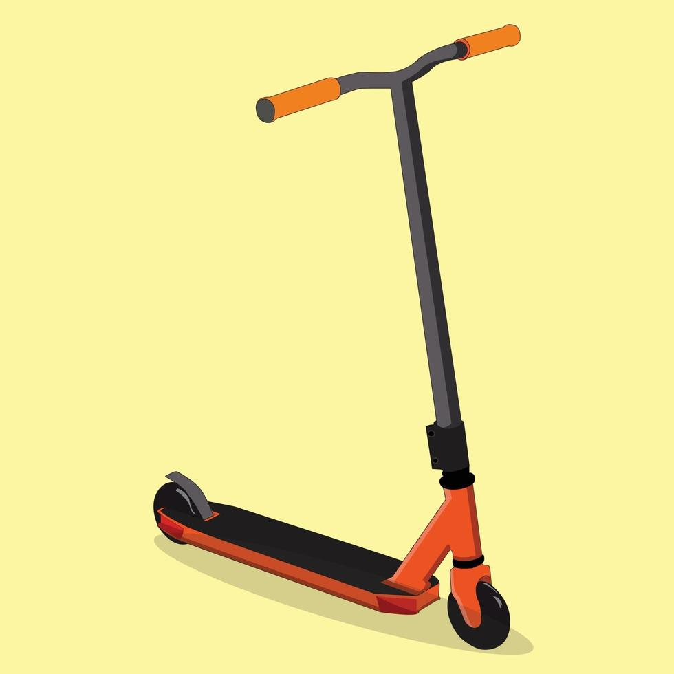 vector scooter, perfect voor sport