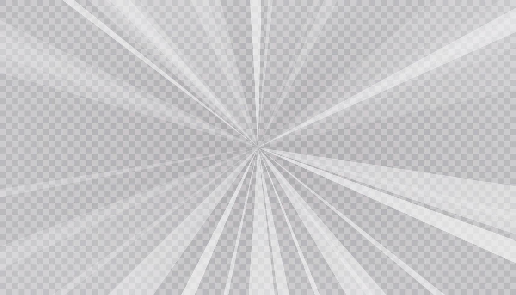 heldere straal abstracte en lichte achtergrond. vector en illustratie.