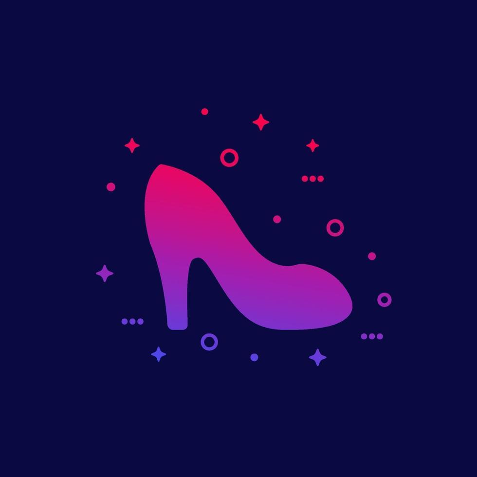 mode vrouw schoen pictogram, vector.eps vector