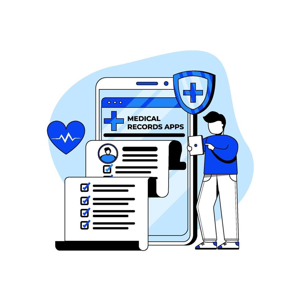 medische en gezondheidszorg pictogram concept vector
