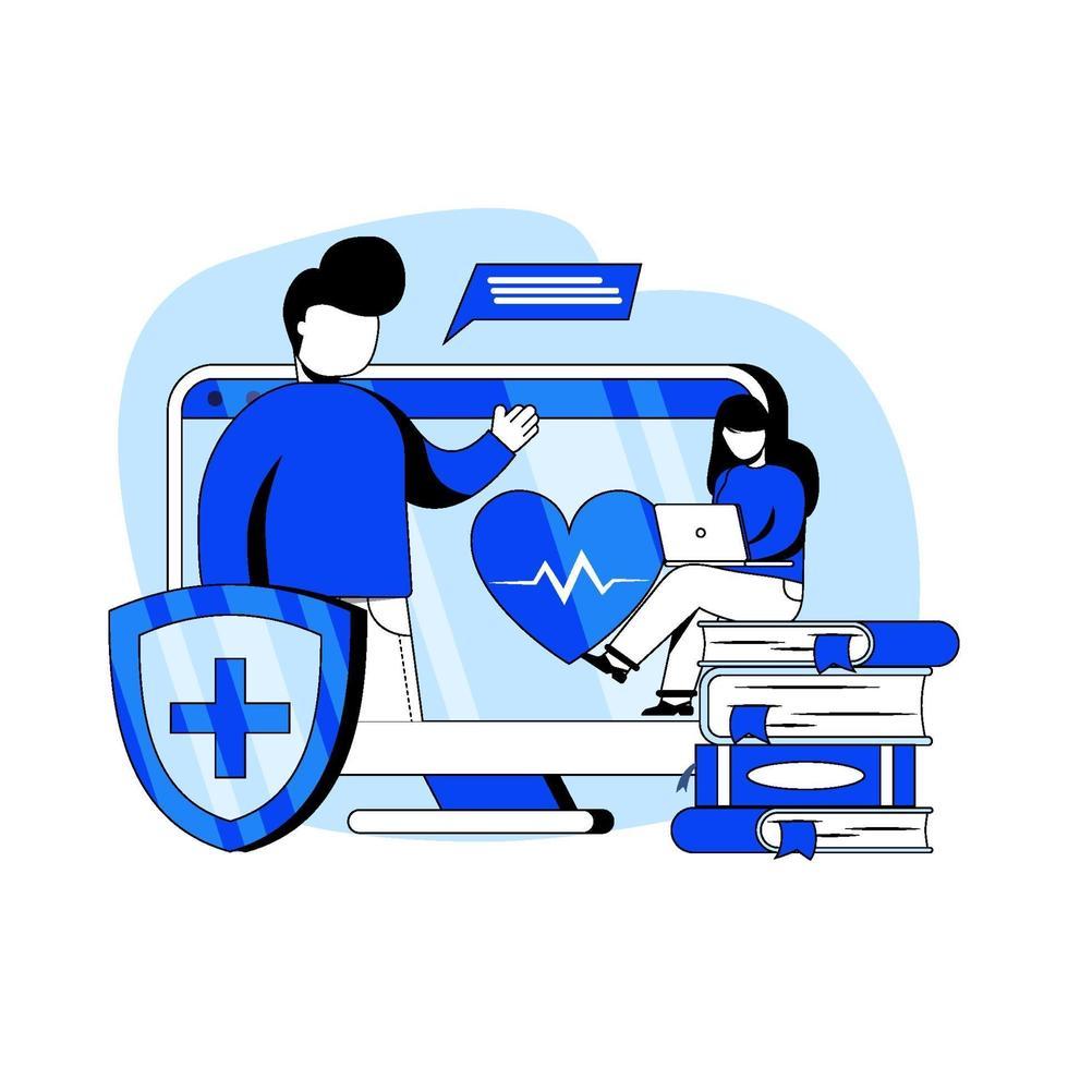 medisch onderwijs pictogram concept vector