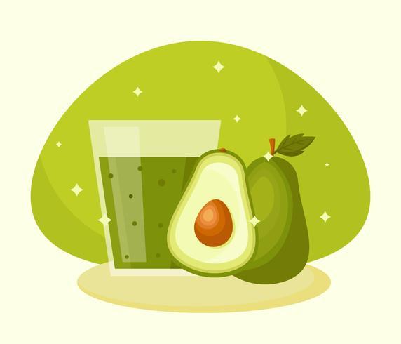 avocado sap vector