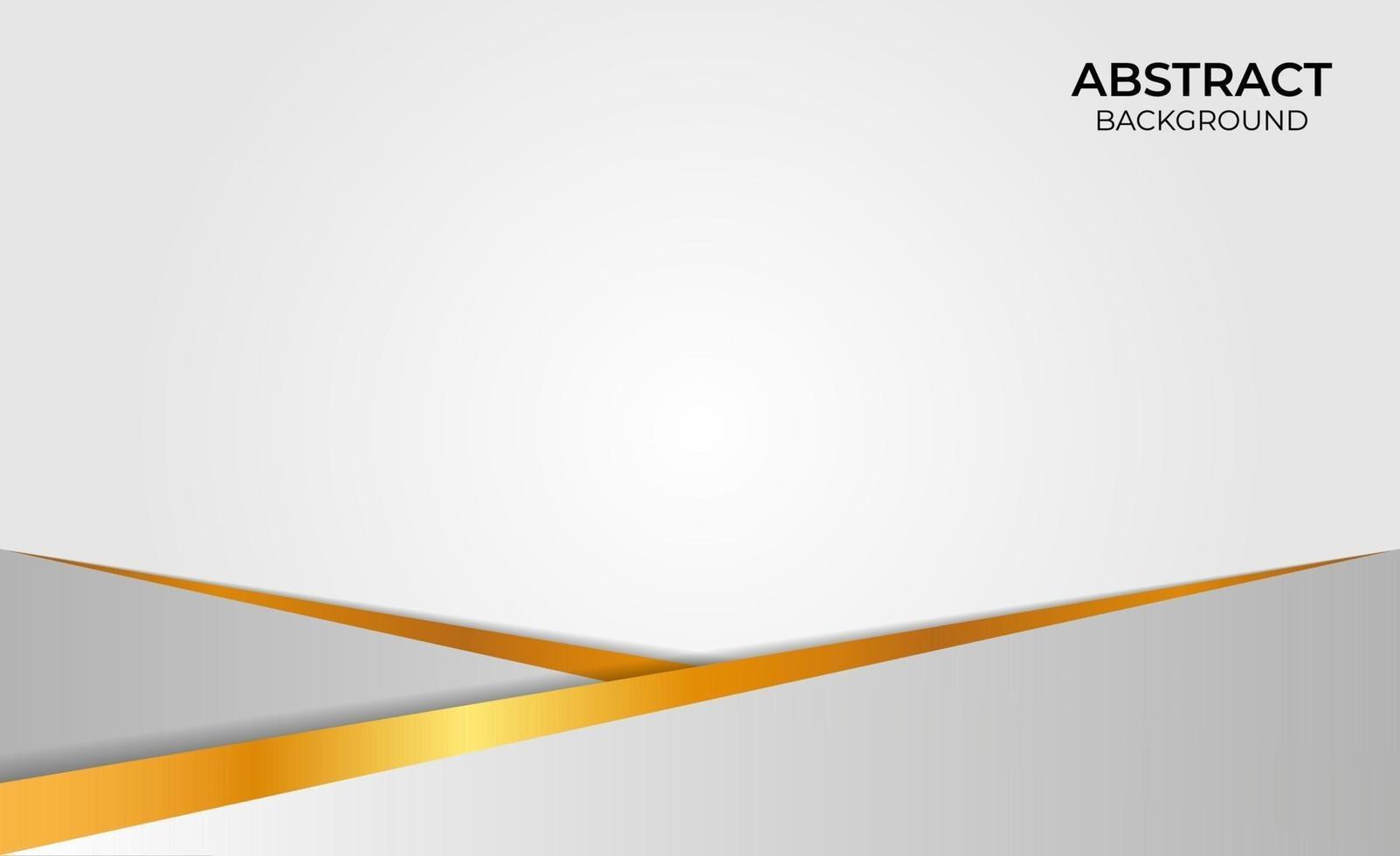 ontwerp goud en grijs abstract vector