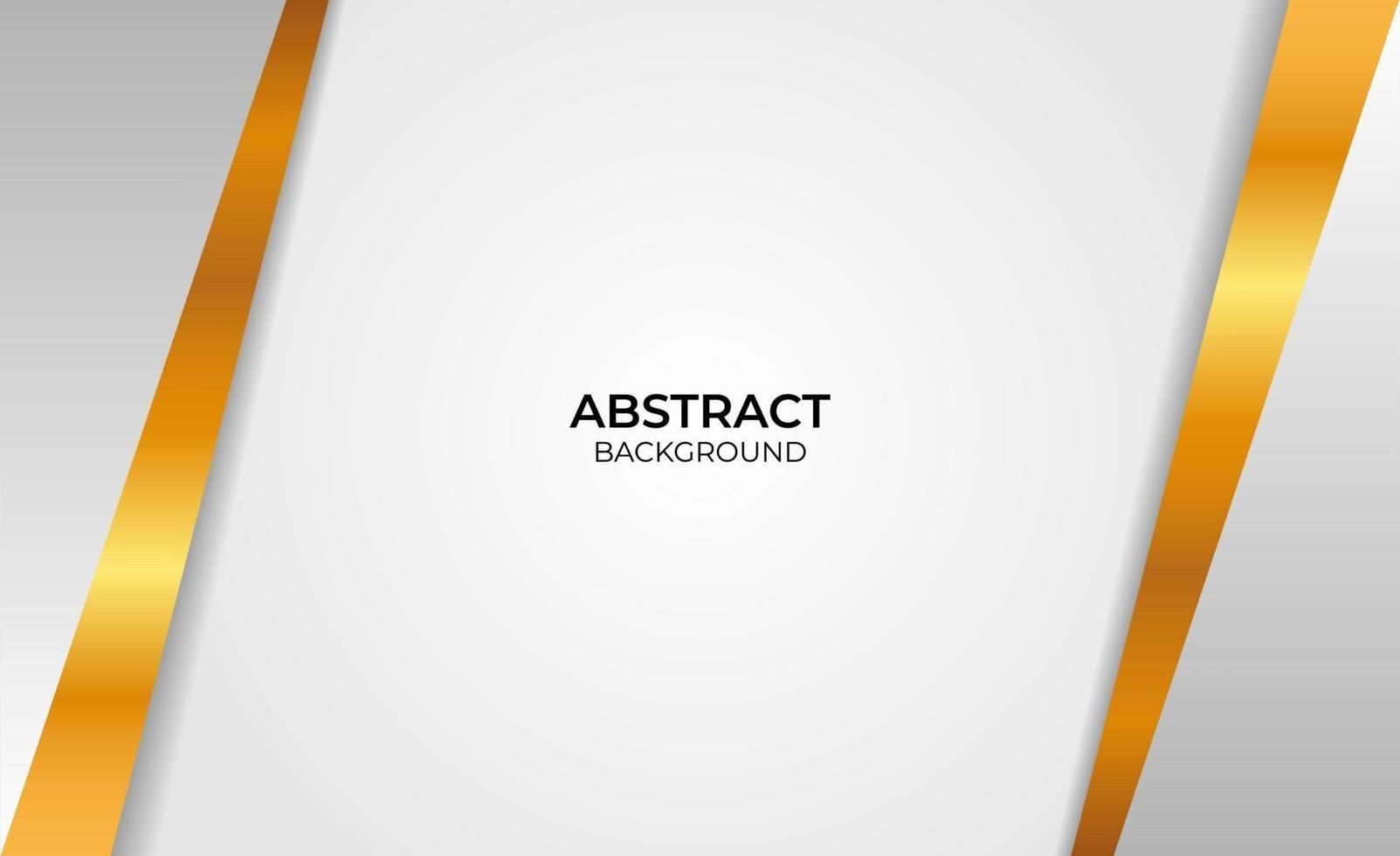 abstracte ontwerp gouden en grijze stijl vector