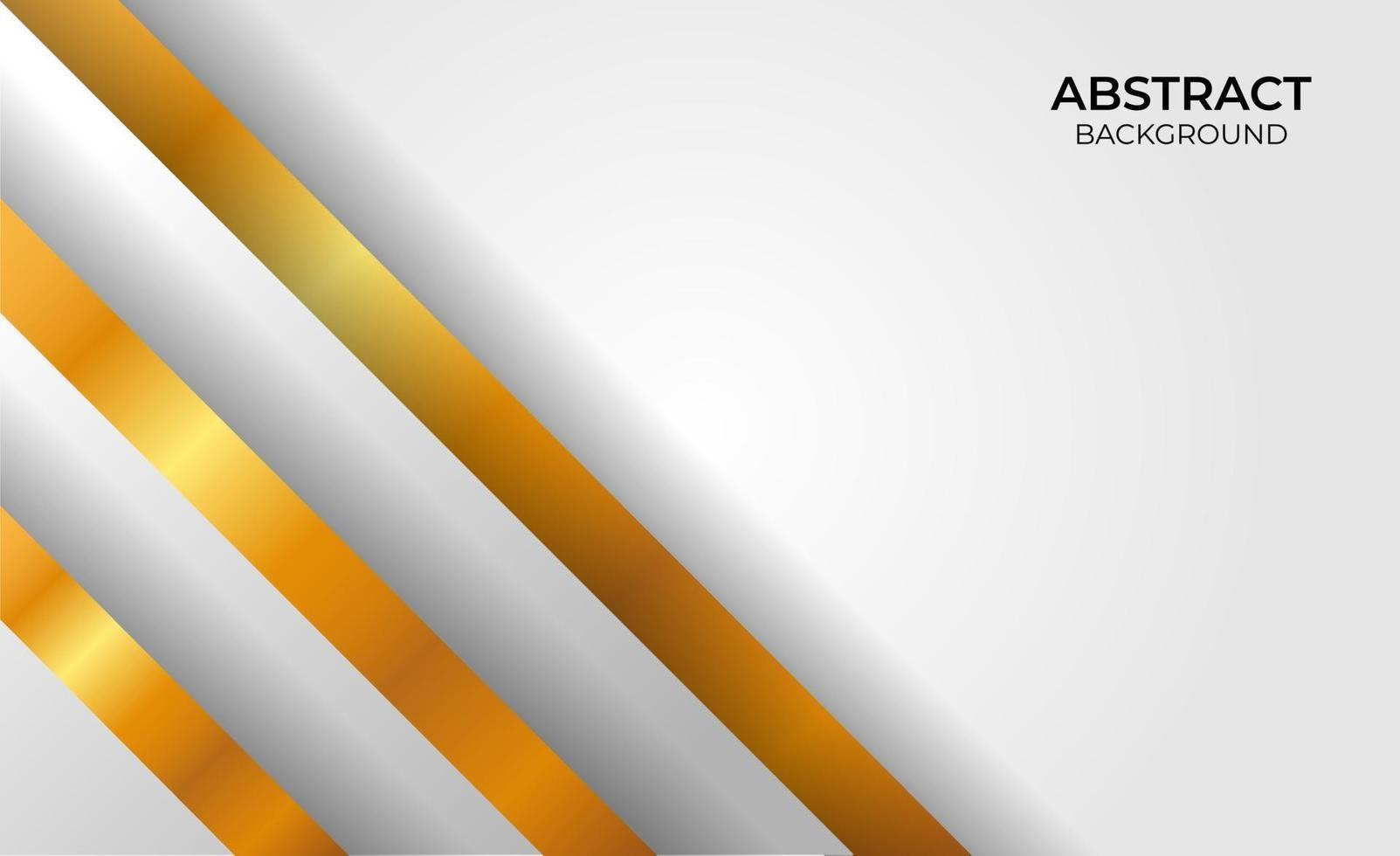 elegante gouden en grijze achtergrond vector