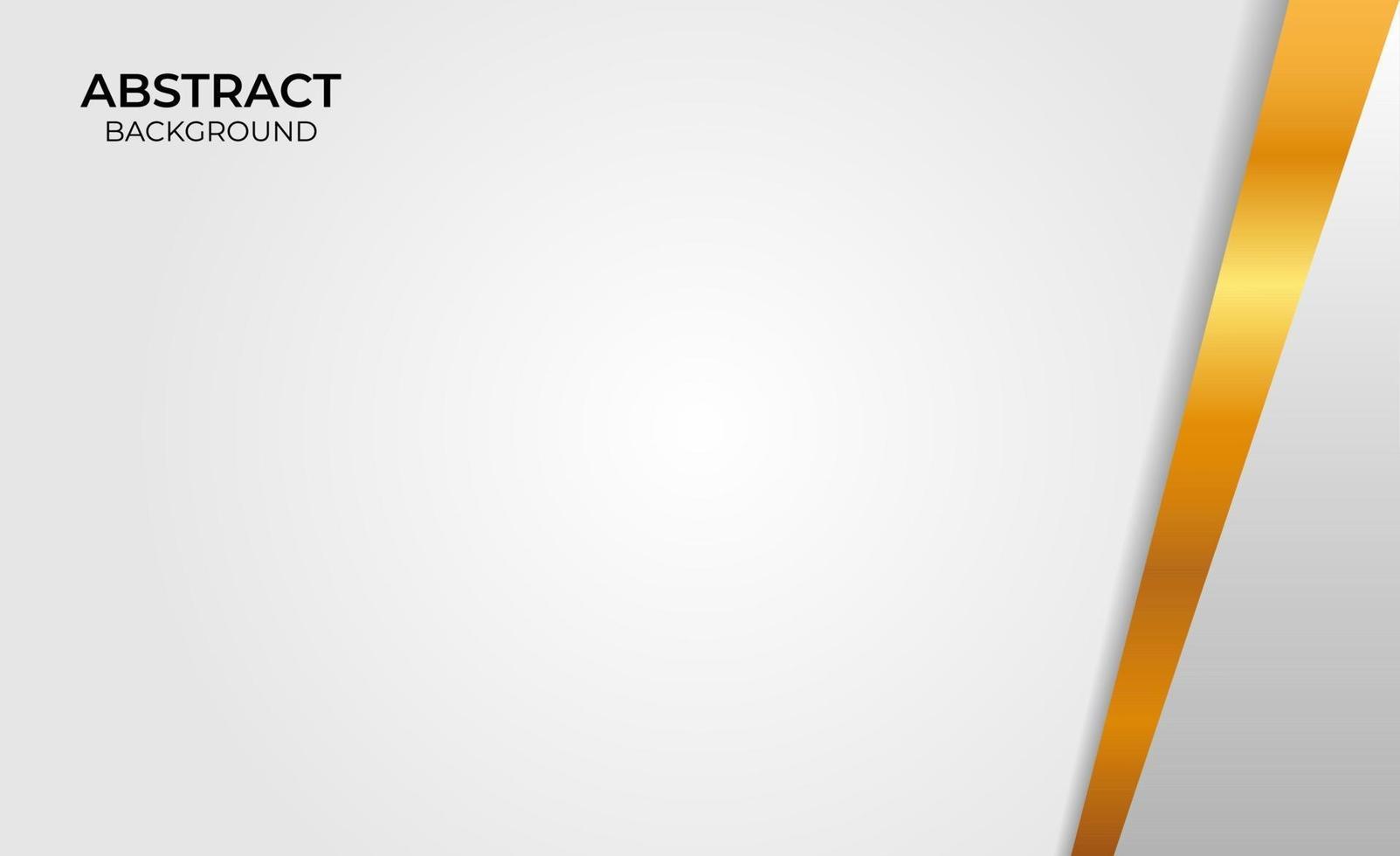 abstracte achtergrondontwerp gouden en grijze stijl vector
