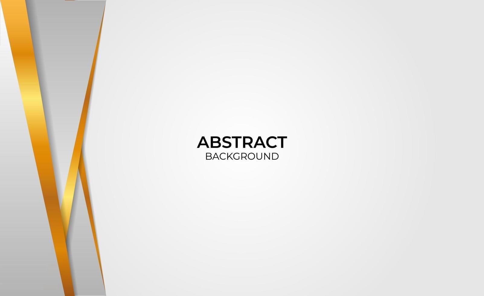 abstracte gouden en grijze stijl vector