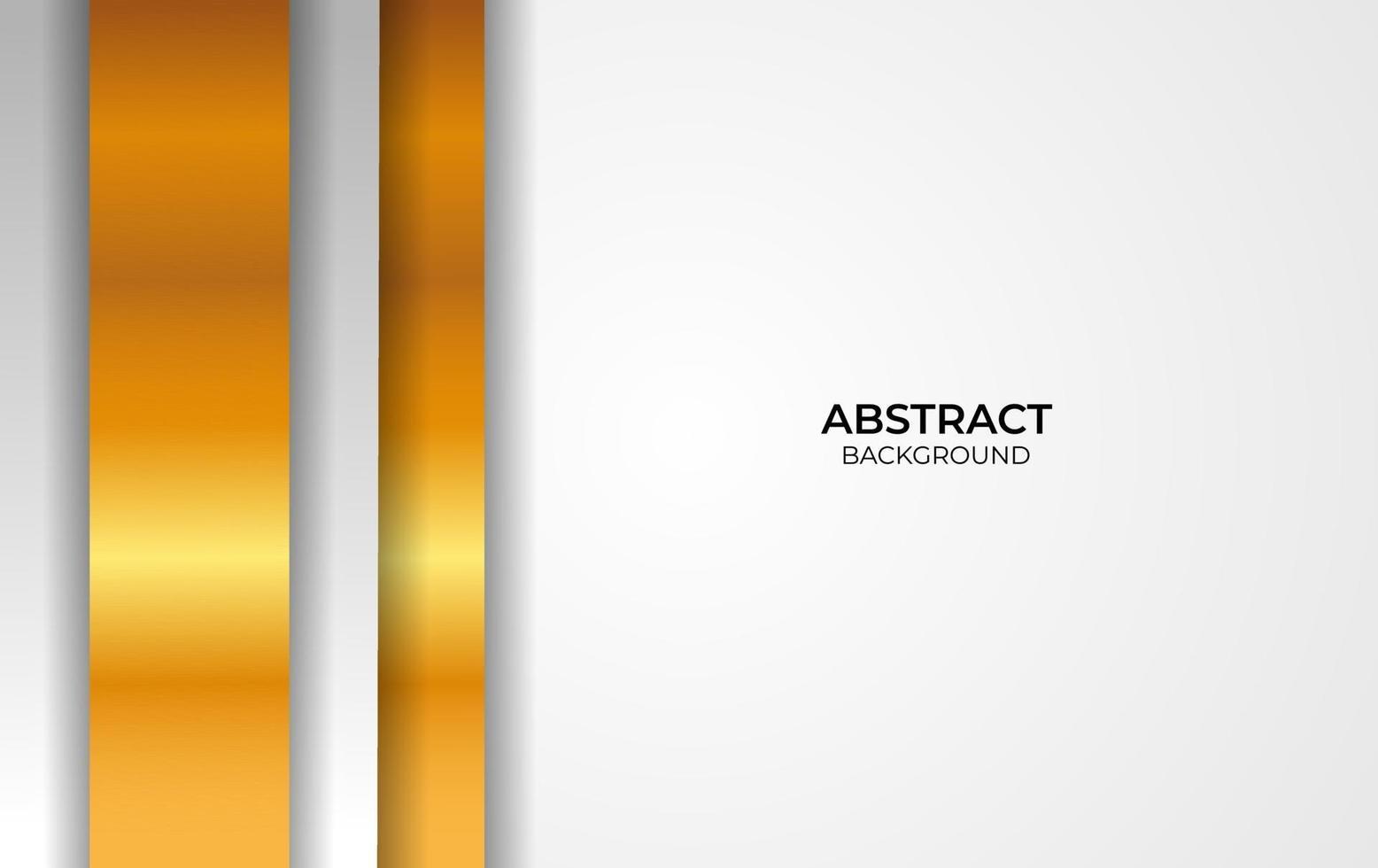 luxe stijl witte en gouden achtergrond vector
