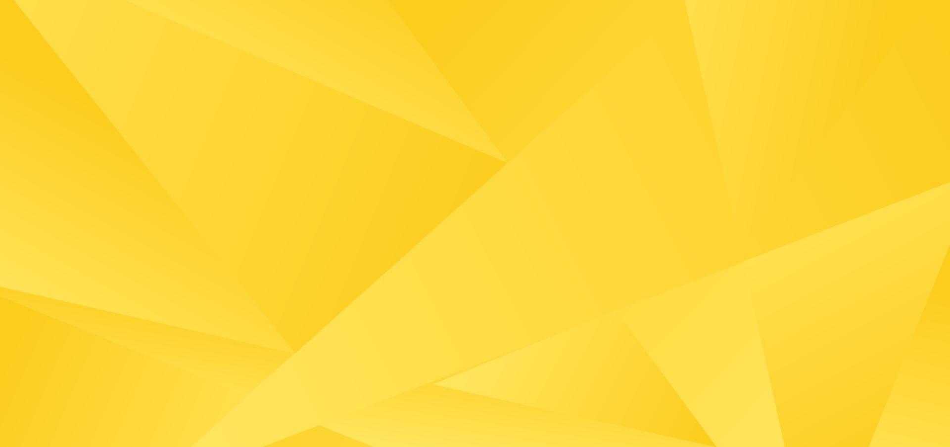 abstracte gele lage veelhoekachtergrond en textuur. vector