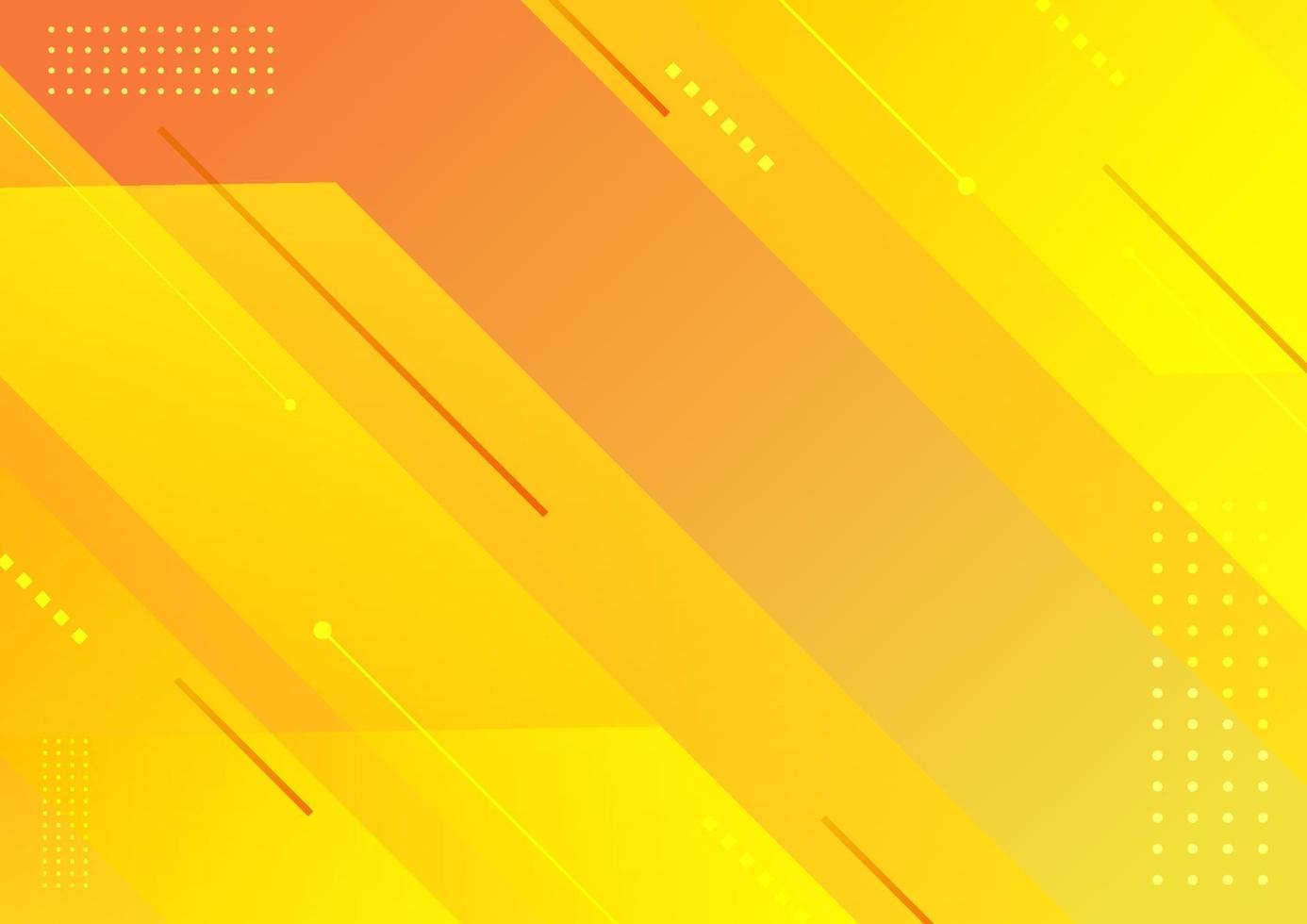abstracte moderne strepen geometrische diagonale gele achtergrond. vector