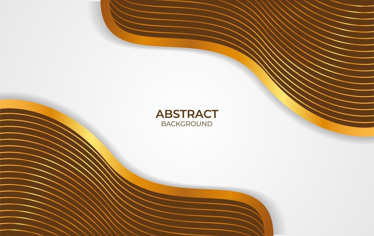 abstracte achtergrond bruin en goud vector