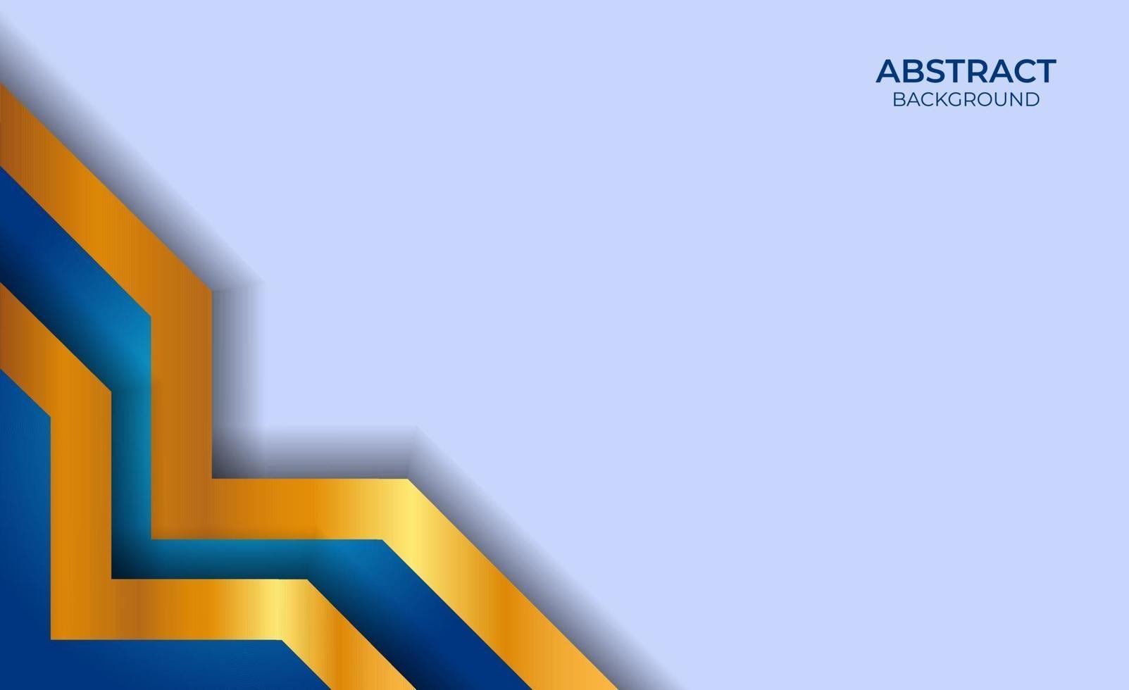 achtergrond blauw en goud abstract vector