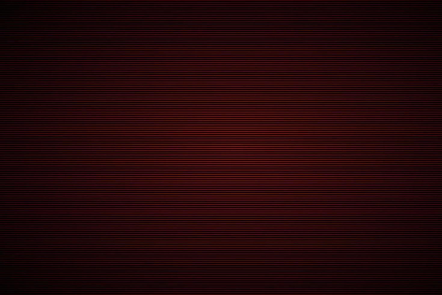 zwart metallic roestvrijstalen achtergrond met rode horizontale strepen. sipme vectorillustratie vector