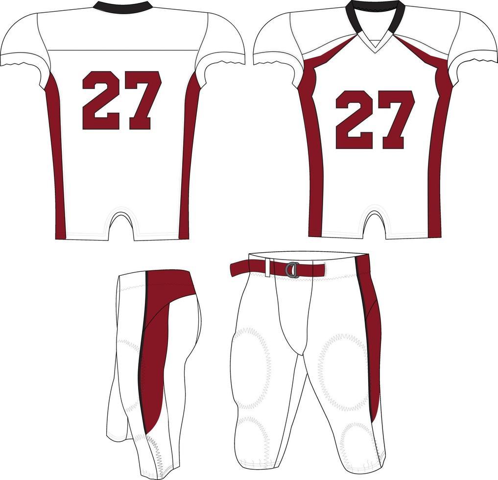 volwassen bronco compressie jersey vector