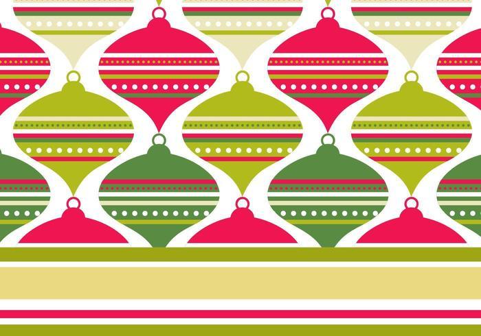 Retro Rode en Groene Illustratorpatroon & Behangpakket vector