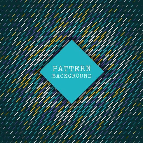 Retro patroonachtergrond vector