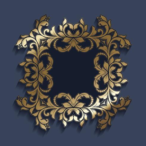 Decoratieve rand vector