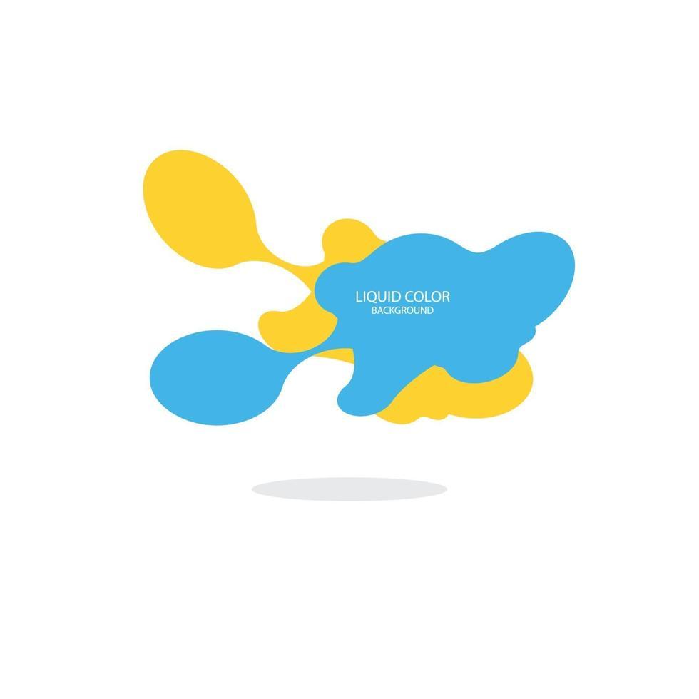 moderne abstracte vector banner set. platte geometrische vloeibare vorm met verschillende kleuren. moderne vector sjabloon, sjabloon voor het ontwerp van een logo, flyer of presentatie. abstracte geometrische vormen