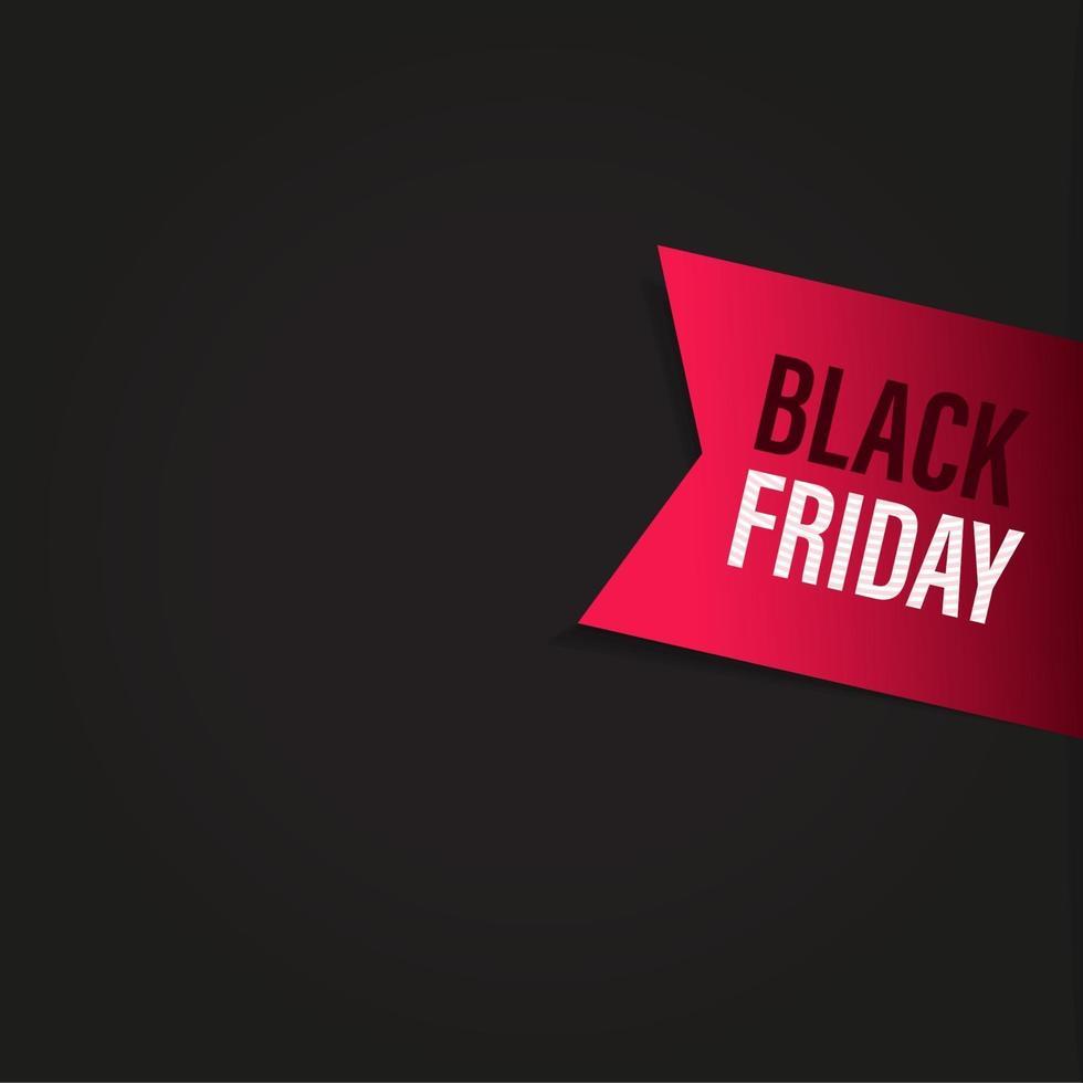 zwarte vrijdag verkoop lint banners collectie geïsoleerd. vector prijskaartjes.