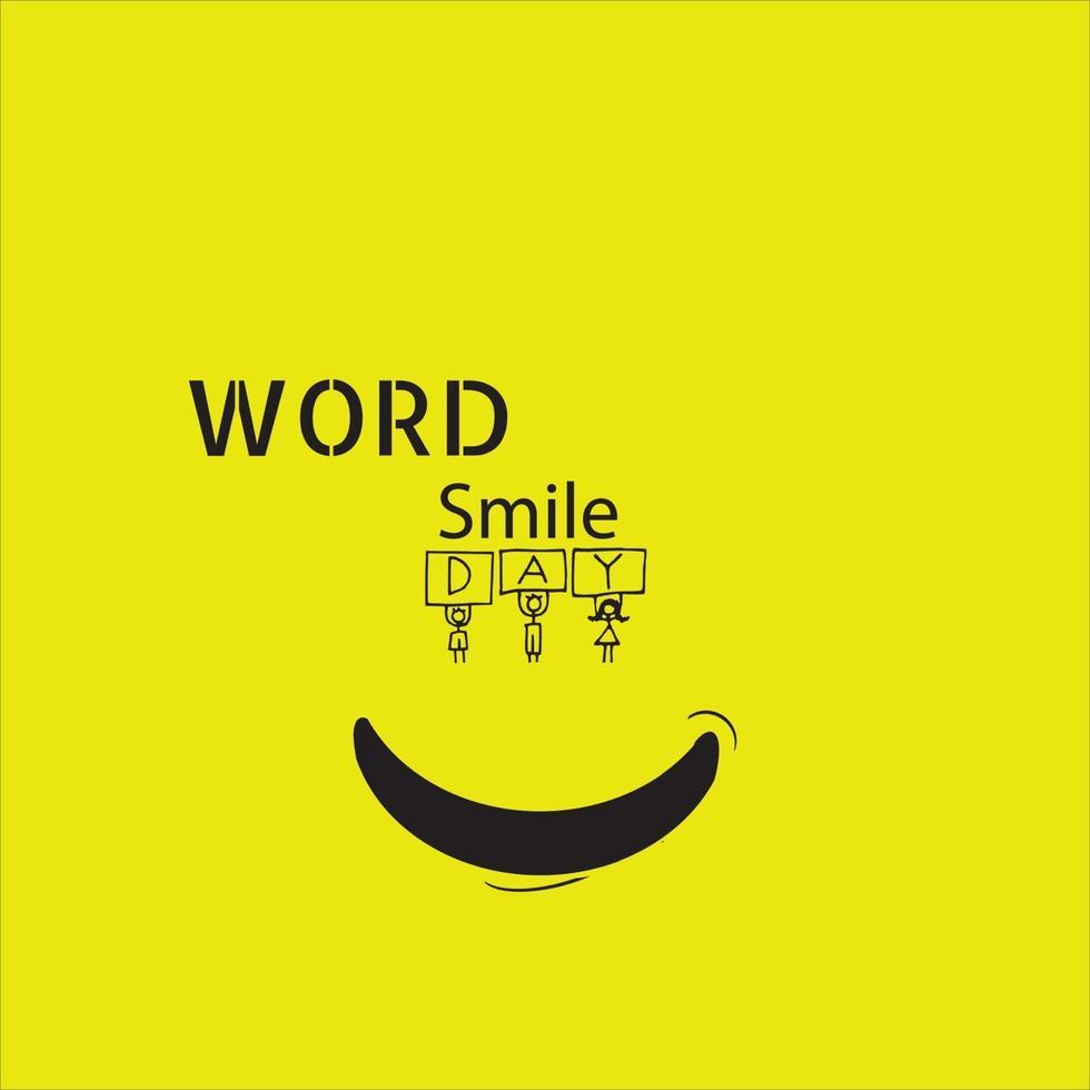 glimlach pictogram logo vector sjabloonontwerp - vector