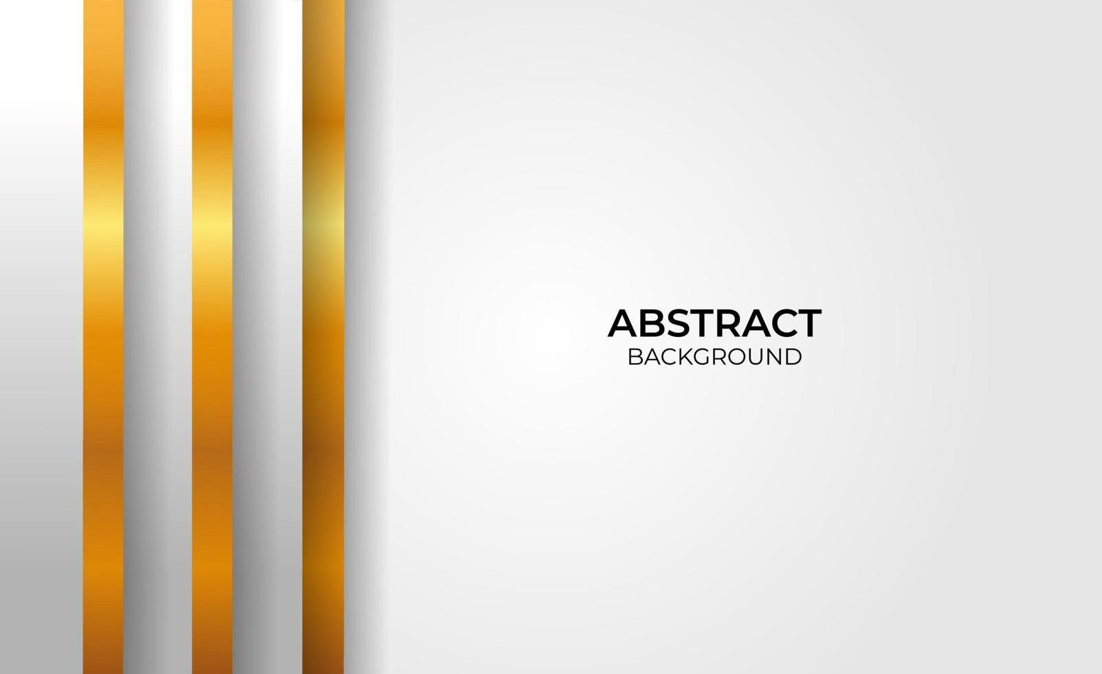 abstracte elegante geometrische gouden en grijze stijl vector