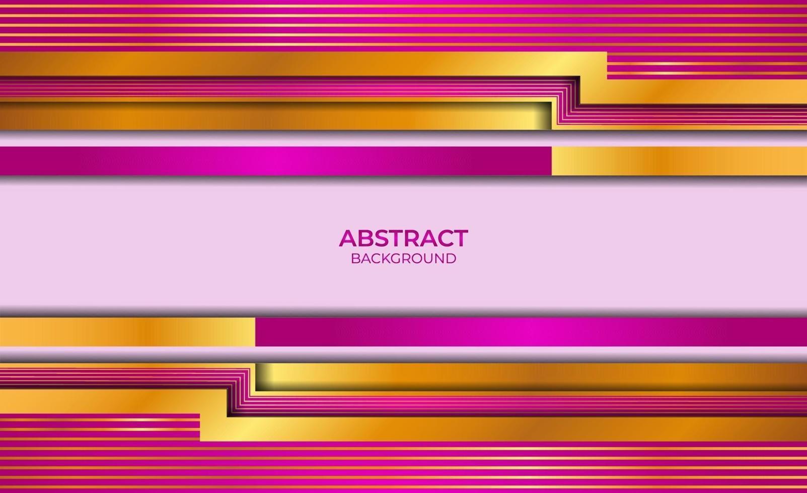 abstracte achtergrond gouden en paarse stijl vector