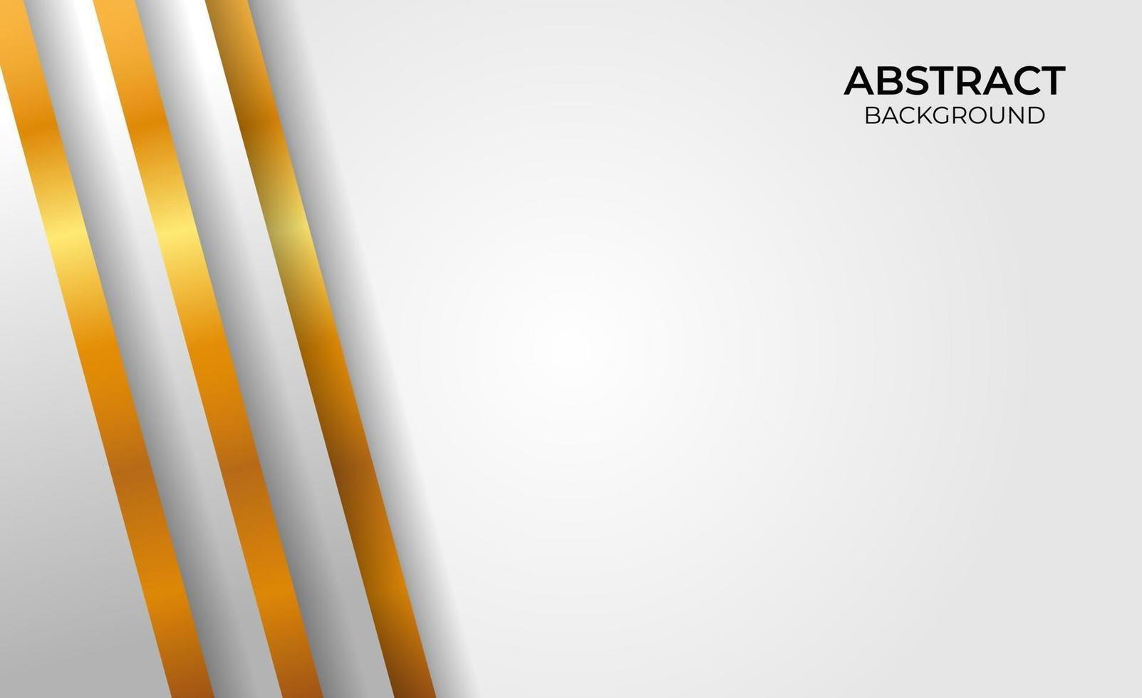 abstract ontwerp geometrische gouden en grijze stijl vector