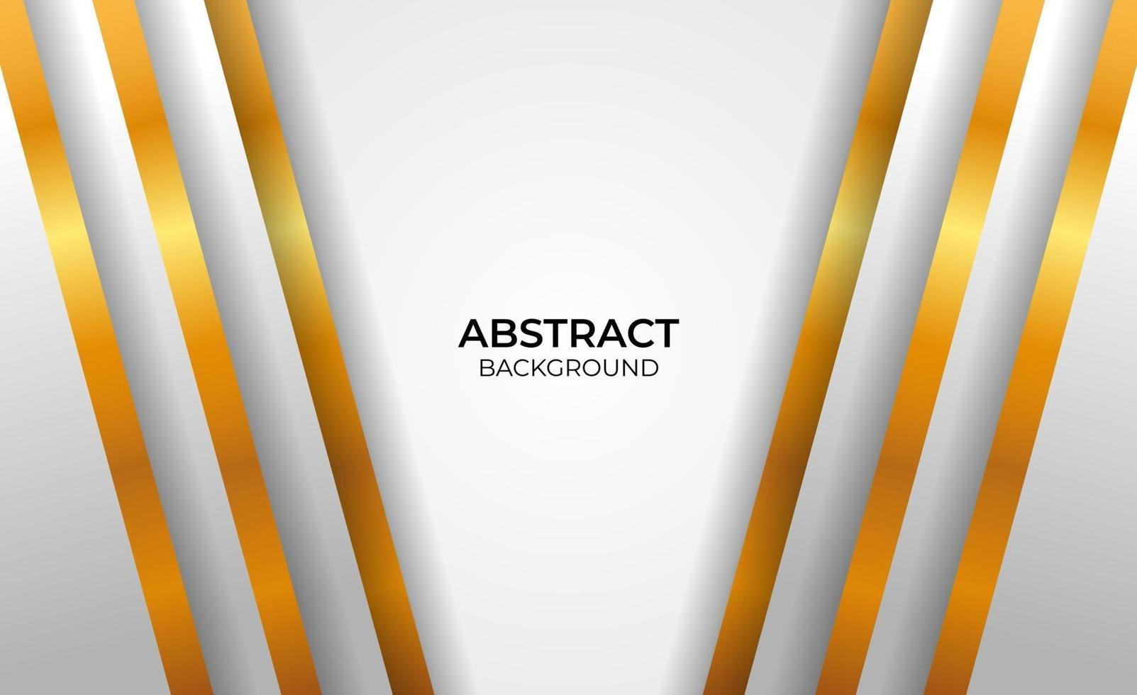 abstracte geometrische gouden en grijze stijl als achtergrond vector