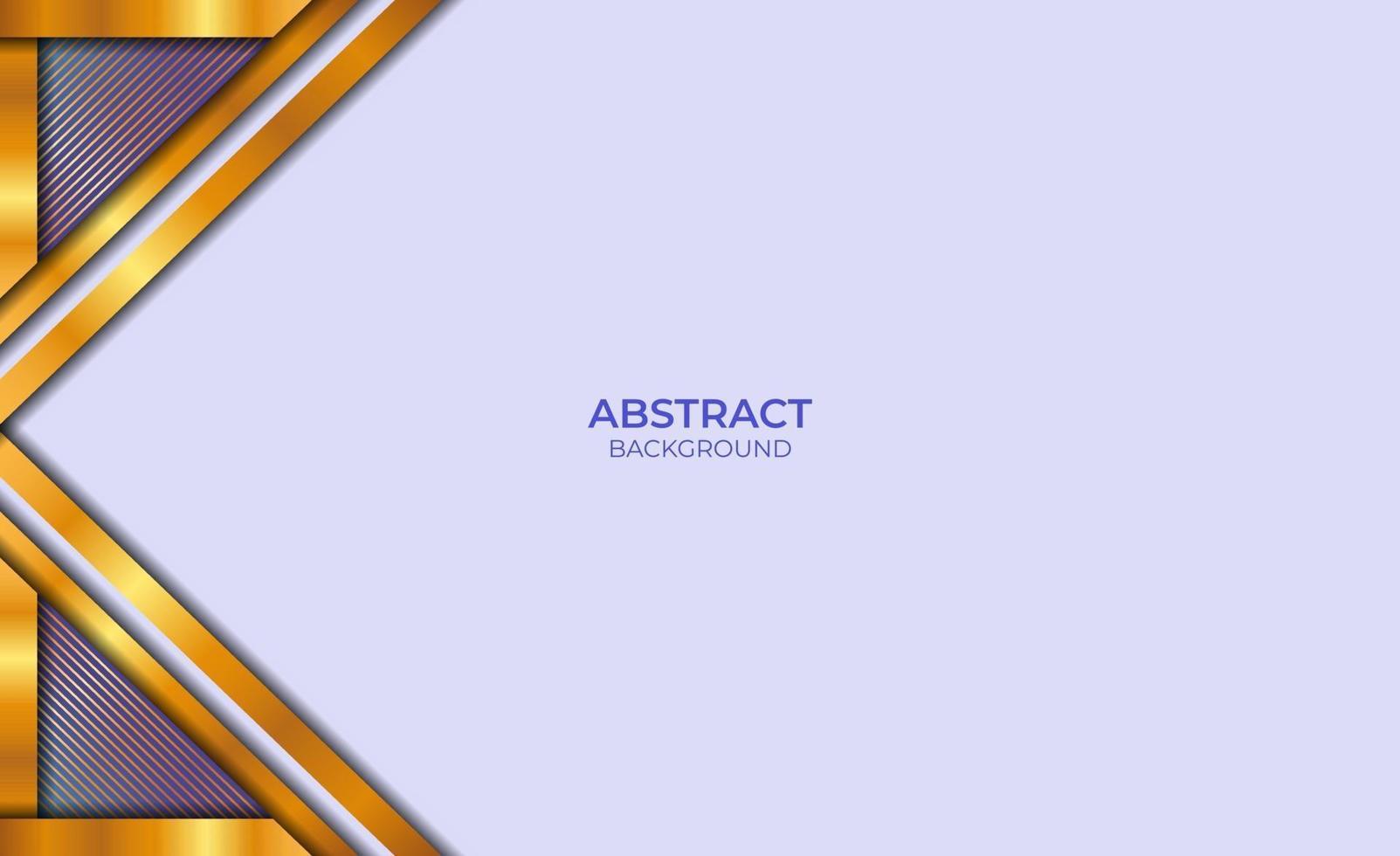 ontwerp luxe abstracte stijl blauw en goud vector