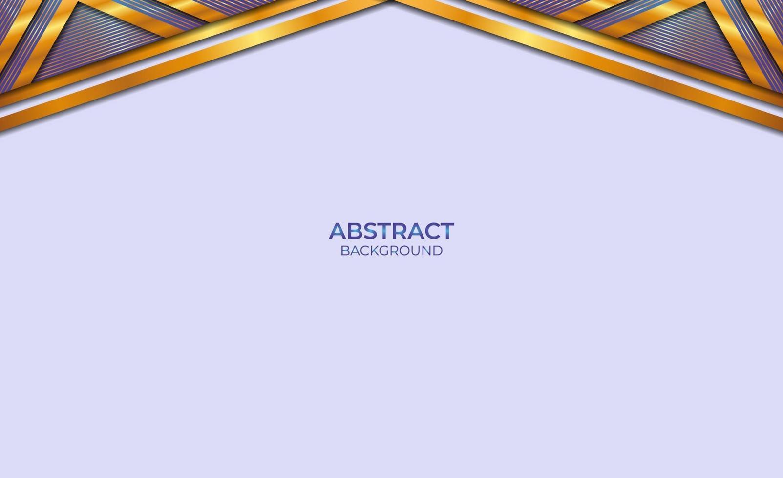 luxe abstracte stijl blauw en goud vector