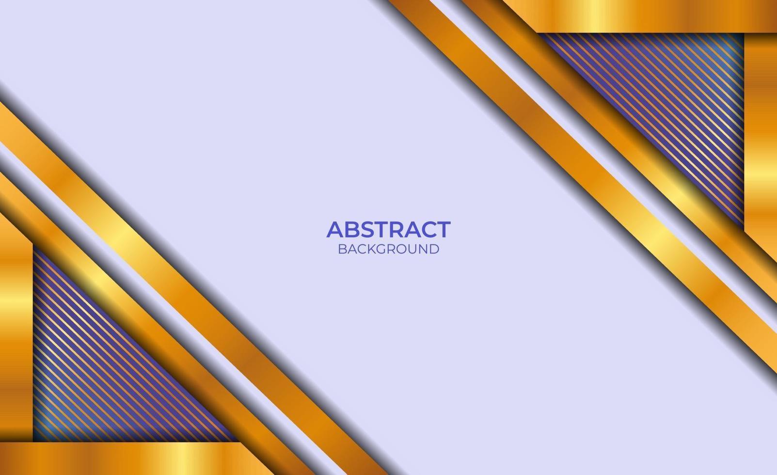 achtergrond abstract blauw en goud vector