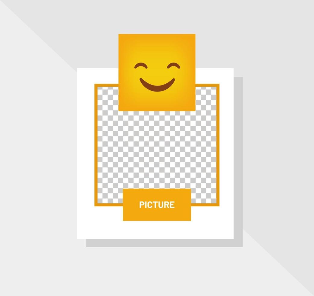 emoticon glimlach reactie wenskaart vector
