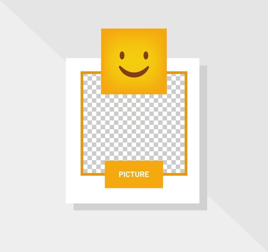 emoticon reactie gelukkige glimlach wenskaart vector