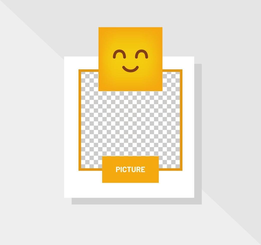 reactie emoticon glimlach oog wenskaart vector
