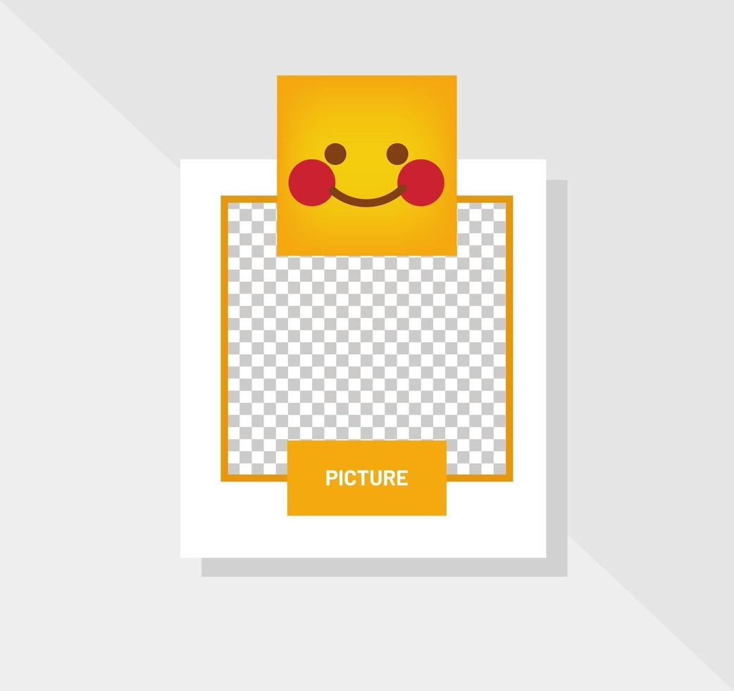 reactie emoticon verlegen glimlach wenskaart vector