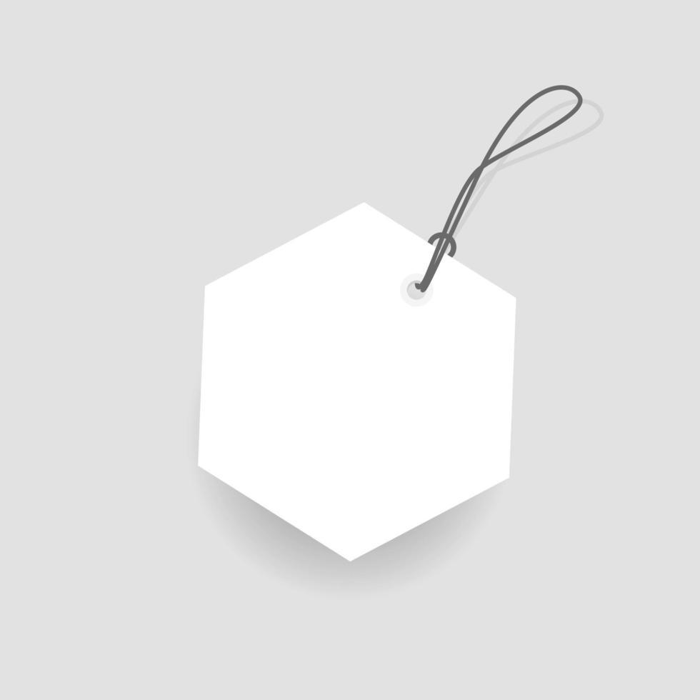 label lege rode korting verkoop label vector