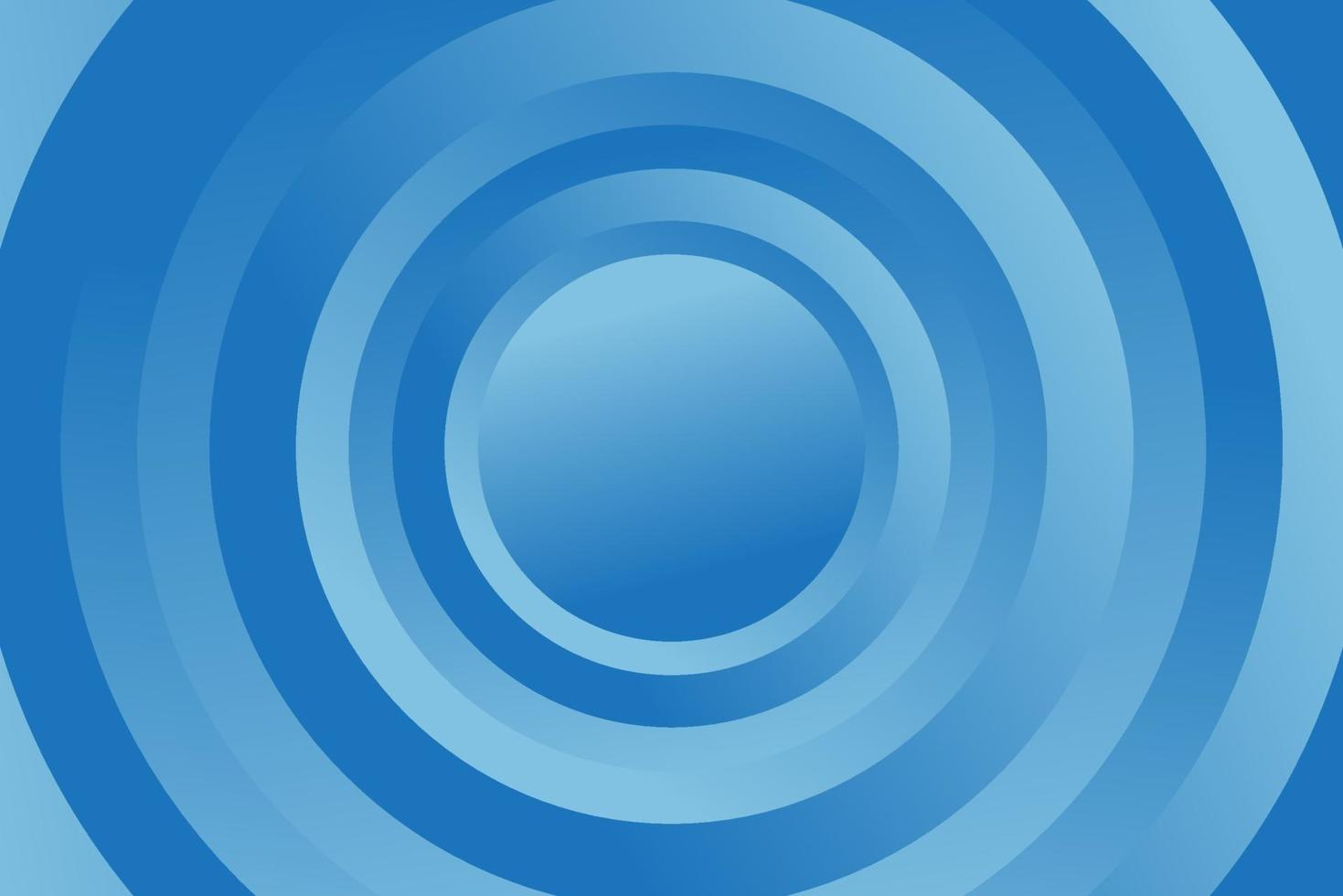 blauwe geometrische achtergrond. samenstelling van vloeiende geometrische vormen. vector