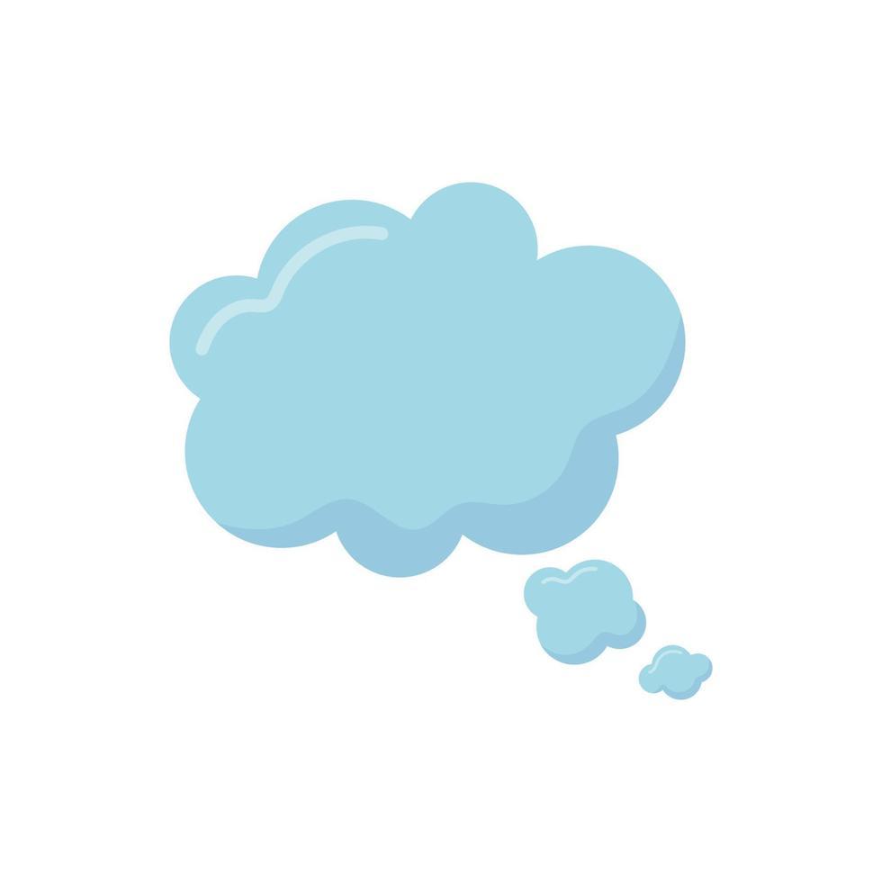toespraak bubble wolk vector