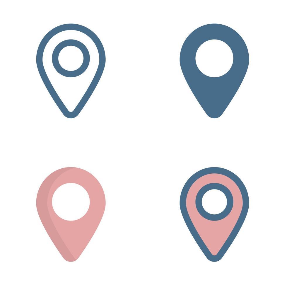 pin pictogram in geïsoleerd op een witte achtergrond. voor uw websiteontwerp, logo, app, ui. vectorafbeeldingen illustratie en bewerkbare beroerte. eps 10. vector
