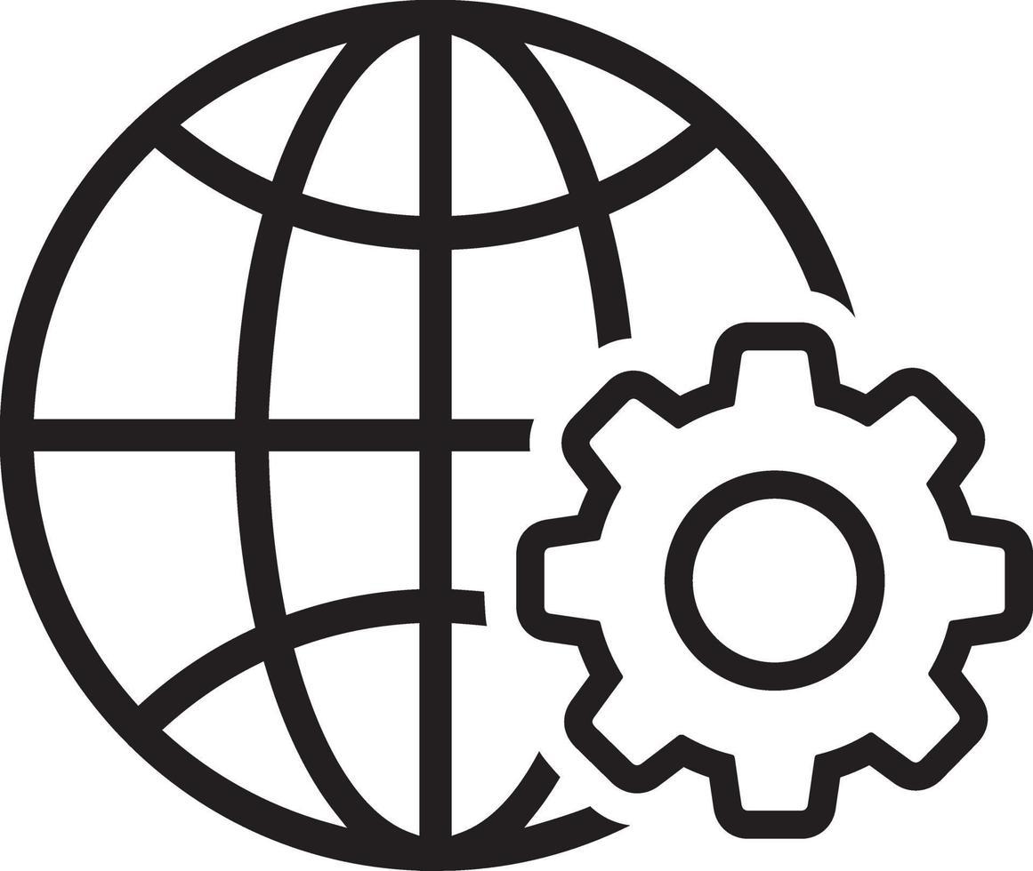 lijn pictogram voor web vector