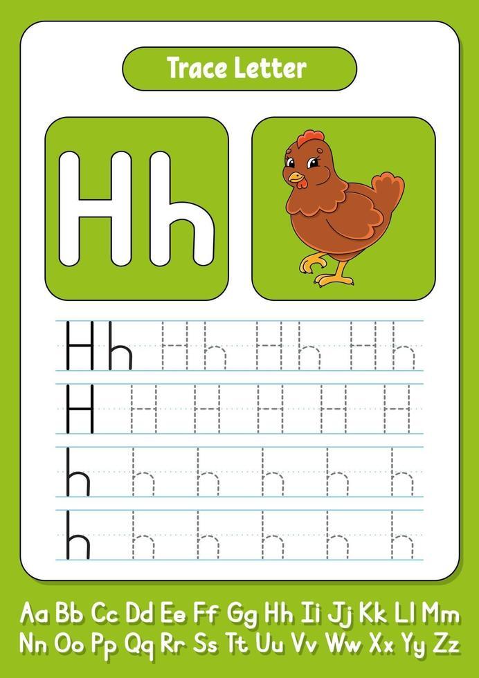 brieven schrijven h vector