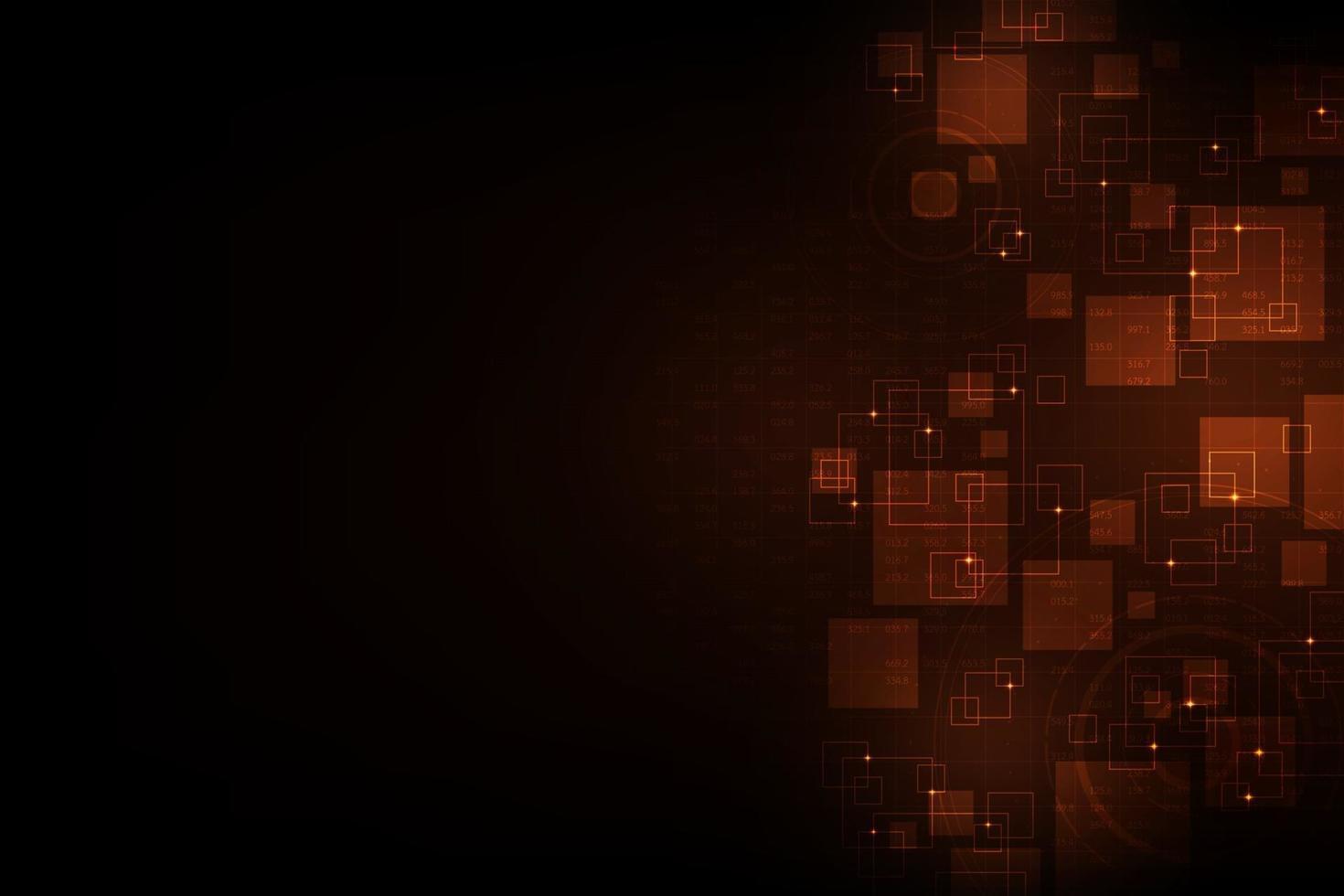 gegevens en digitale systemen abstracte achtergrond vector