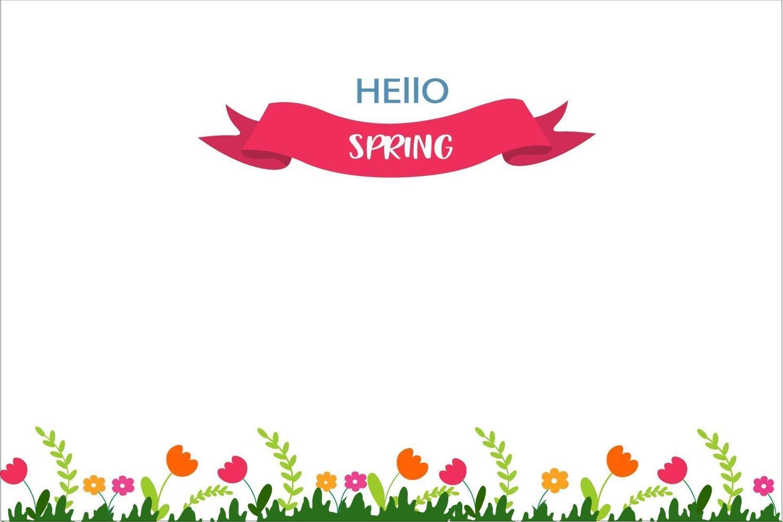 bloemen banners. vector illustratie