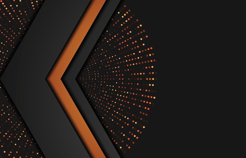 moderne achtergrond met glittereffect. abstracte realistische papercut achtergrond. abstracte geometrische achtergrond. vector 3d illustratie. vector illustratie eps 10