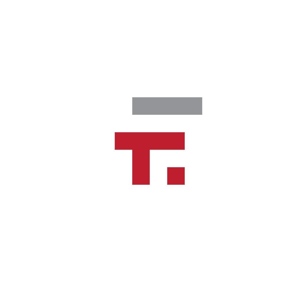 letter f logo pictogram ontwerpsjabloon vector