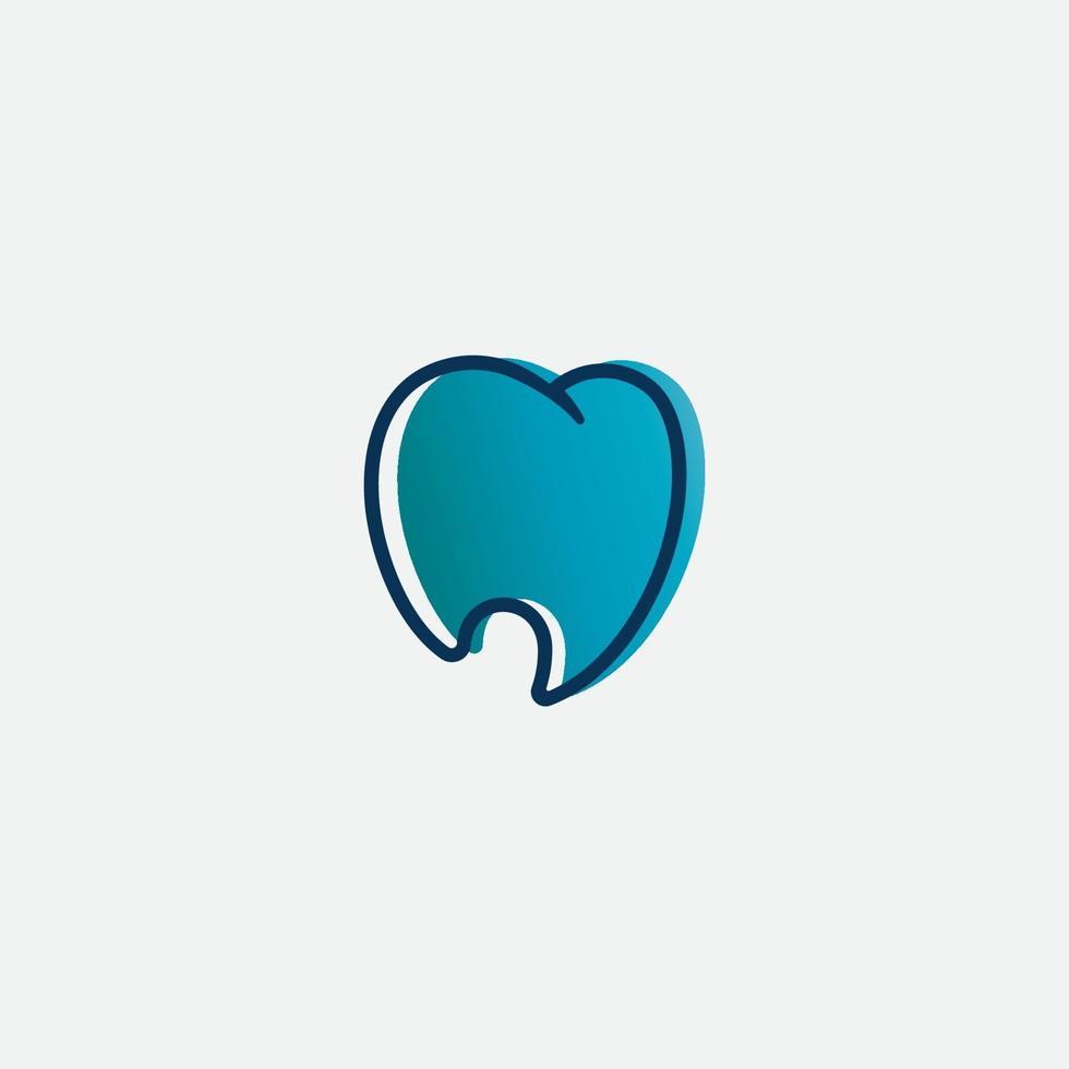 tandheelkundige kliniek logo vector en medische pictogram