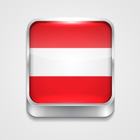 vlag van Oostenrijk vector