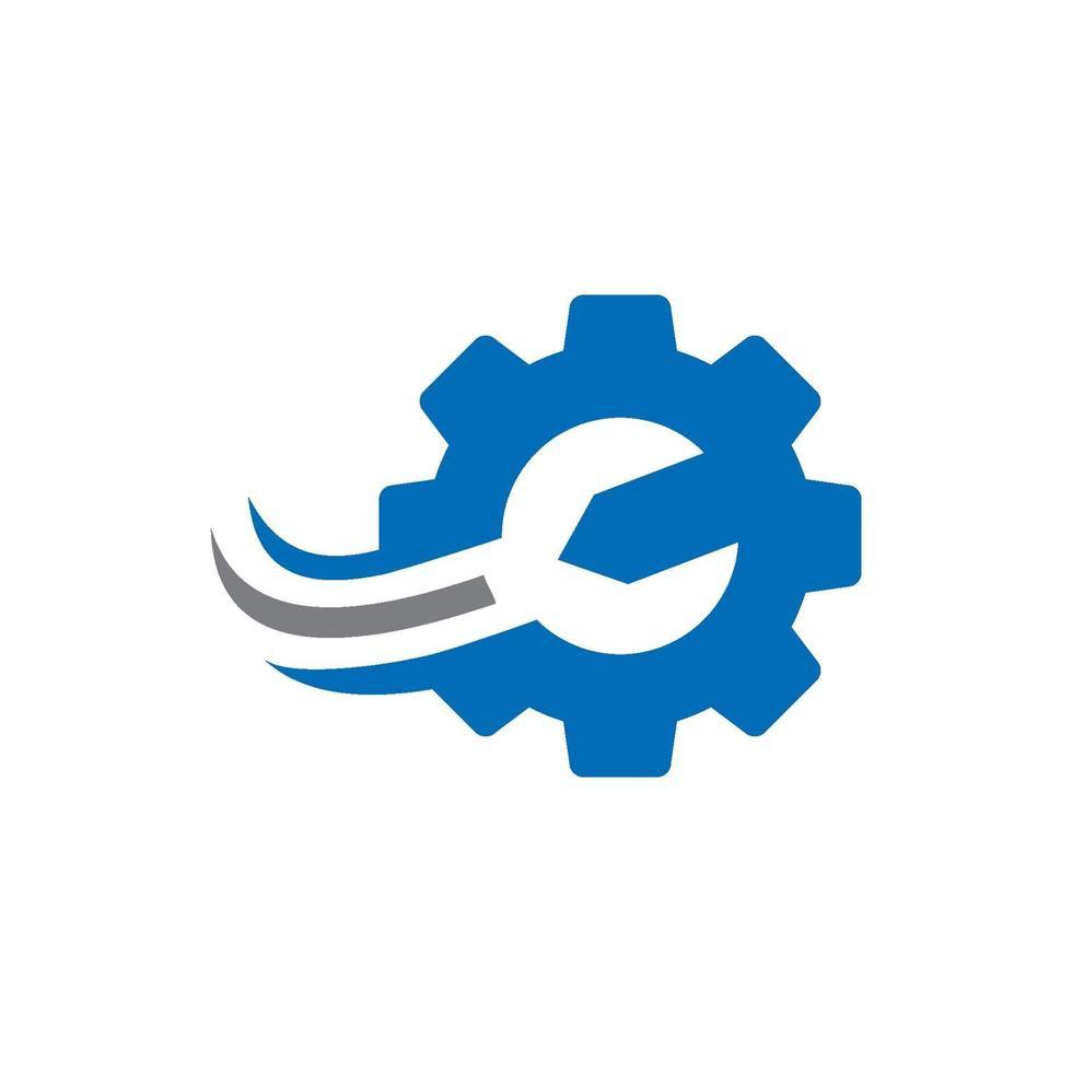 versnelling schroevendraaier zakelijke ontwerpsjabloon pictogram vector